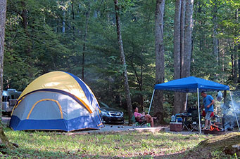 smoky mountain campground