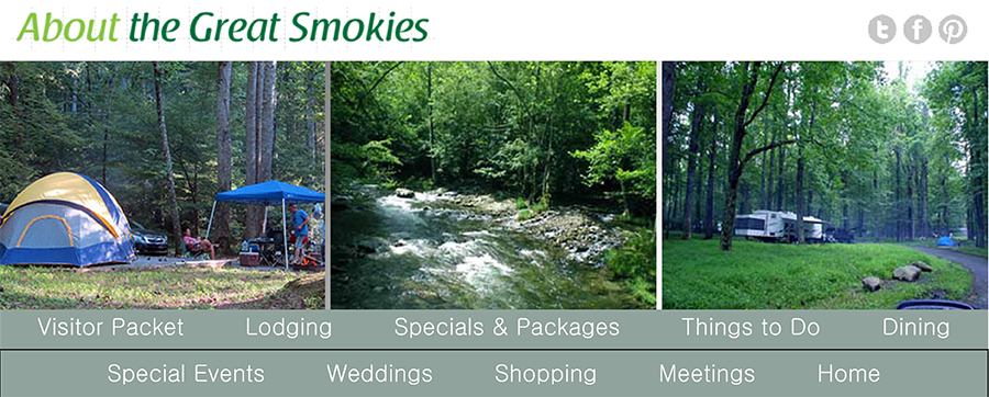 smoky mountain camping