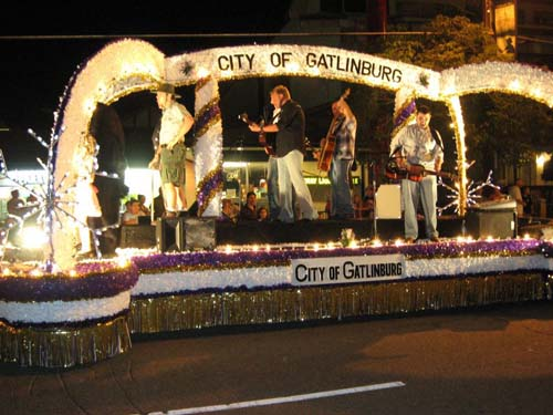 Gatlinburg Christmas Parade.Gatlinburg Christmas Parade