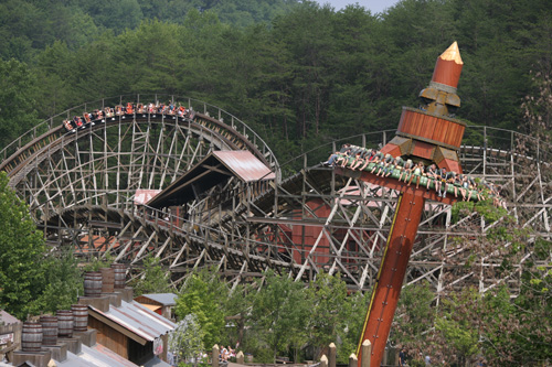 Dollywood S Timber Canyon