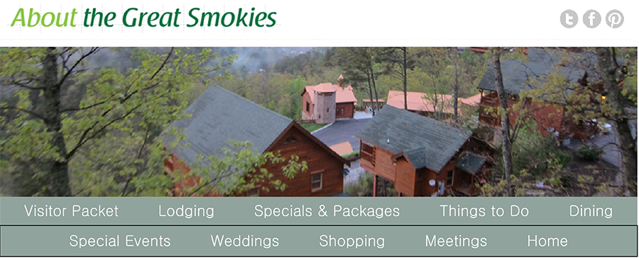 smoky mountain cabins